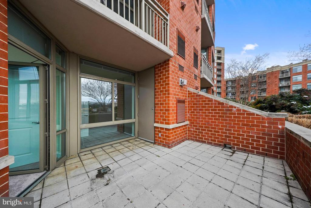 Terrace off Primary Suite - 3650 S GLEBE RD #267, ARLINGTON
