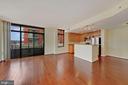 Living Room - 3650 S GLEBE RD #267, ARLINGTON