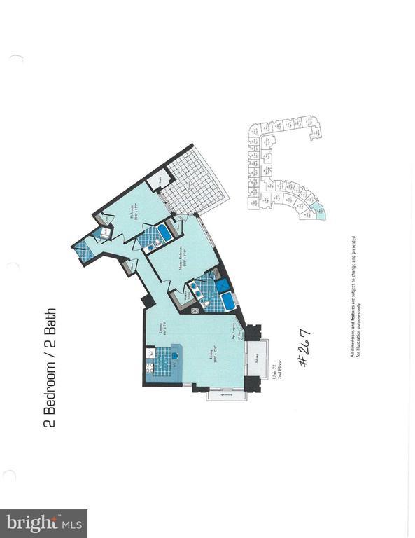 Floor Plan - 3650 S GLEBE RD #267, ARLINGTON