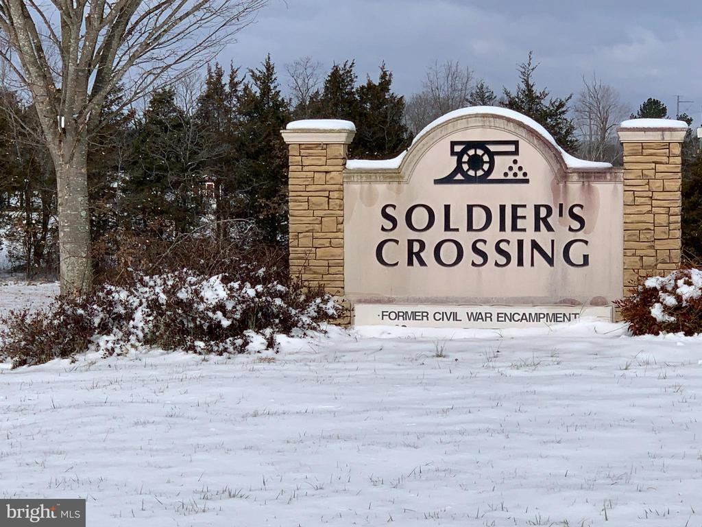 Subdivision Entrance - 11544 SOLDIERS TRL, BEALETON