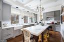 Main Level - Chef's Kitchen - 2860 WOODLAND DR NW, WASHINGTON