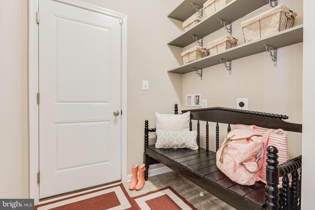 Main Level Laundry Room - 8353 LONGFIELDS LN, ALEXANDRIA
