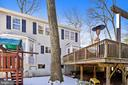 Back Elevation View... - 11588 LAKE NEWPORT RD, RESTON