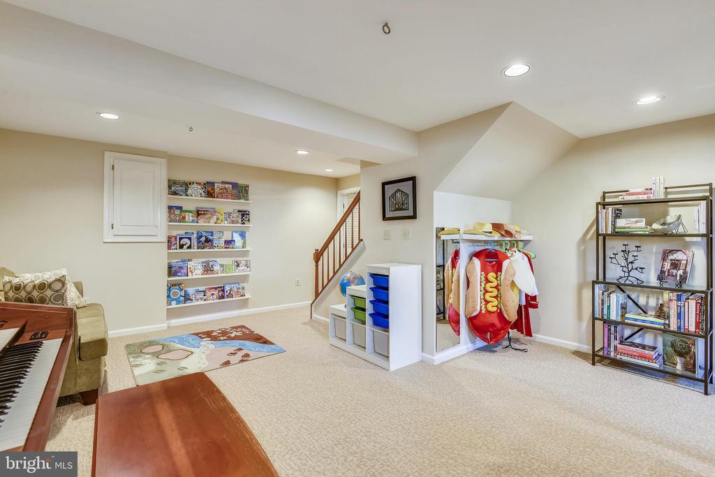 Lower Level Living Area - 11588 LAKE NEWPORT RD, RESTON