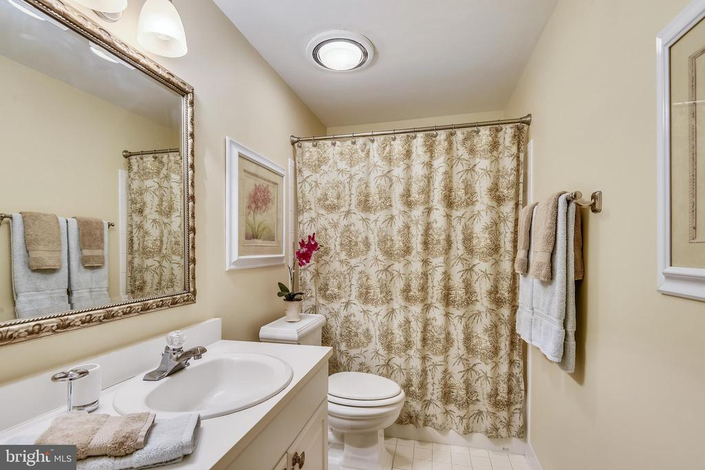 Lower Level Full Bath - 11588 LAKE NEWPORT RD, RESTON
