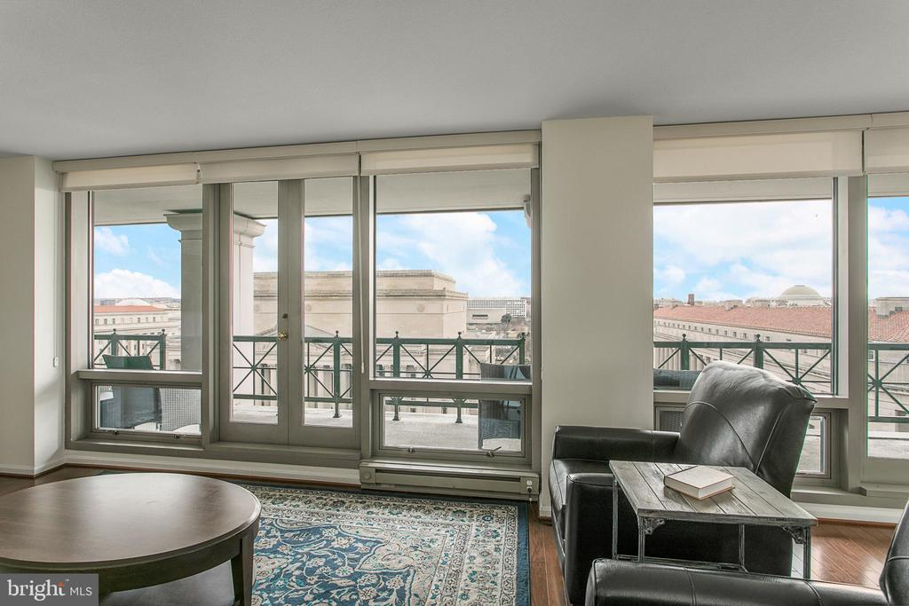 Large Floor-to-Ceiling Windows - 801 PENNSYLVANIA AVE NW #1215, WASHINGTON