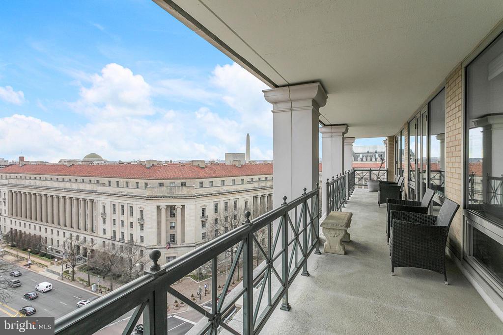 Views From Balcony - 801 PENNSYLVANIA AVE NW #1215, WASHINGTON