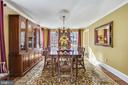 ML Formal Dining Room w/ tons of natural light - 11588 LAKE NEWPORT RD, RESTON