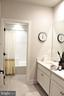 Hall Bath w/Quartz Counters - 42502 MILDRED LANDING SQ, ASHBURN