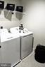 Laundry Room w/Washer & Dryer & Tiled Floors - 42502 MILDRED LANDING SQ, ASHBURN
