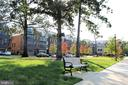 Neighborhood Park w/Benches and Sidewalks - 42502 MILDRED LANDING SQ, ASHBURN