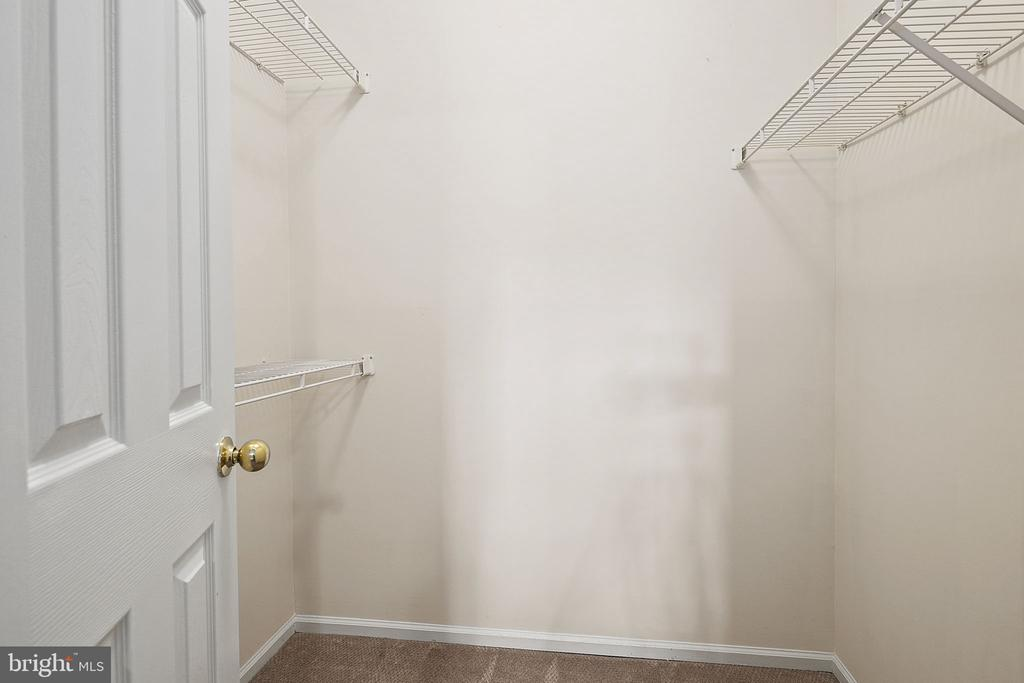 Walk-in Closet - 14305 CLIMBING ROSE WAY #205, CENTREVILLE