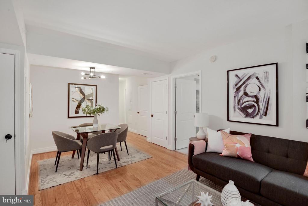 Refinished hardwood floors - 915 E ST NW #403, WASHINGTON