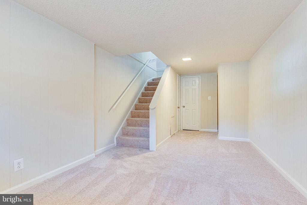 Large lower level rec area - 2943 S DINWIDDIE ST #A1, ARLINGTON