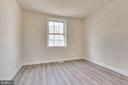 Large owner's bedroom easily fits a king - 2943 S DINWIDDIE ST #A1, ARLINGTON