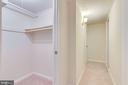 Lower level closet - 2943 S DINWIDDIE ST #A1, ARLINGTON