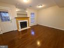 REC ROOM / GAS FIREPLACE - 6403 LURETA ANN LN, SPRINGFIELD