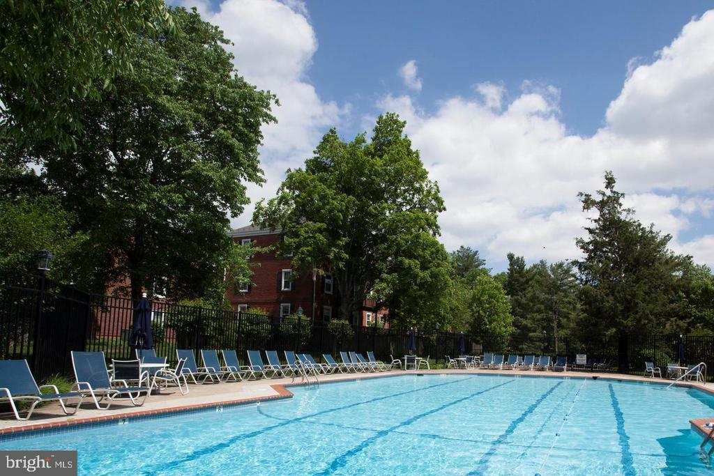 1 of 6 pools available to residents - 2943 S DINWIDDIE ST #A1, ARLINGTON