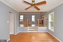 Dining/Living - 5203 GLEN MEADOW RD, CENTREVILLE