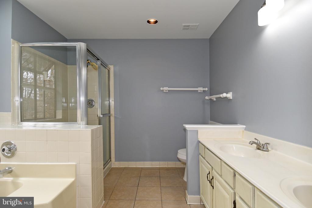 Master Bathroom - 5203 GLEN MEADOW RD, CENTREVILLE