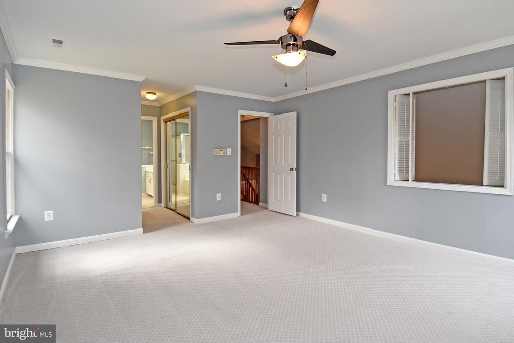 Master Bedroom - 5203 GLEN MEADOW RD, CENTREVILLE
