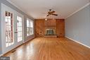 Family Room - 5203 GLEN MEADOW RD, CENTREVILLE