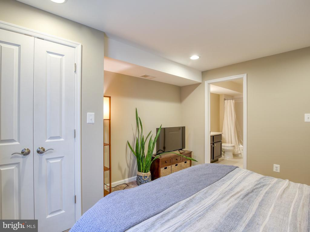 Lower Level Bedroom with Bath - 17260 CREEKSIDE GREEN PL, ROUND HILL