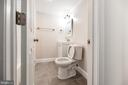 Large lower level bath completely updated. - 7605 LAURALIN PL, SPRINGFIELD