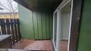 Outside fenced patio area - 8634 MADERA CT, MANASSAS PARK