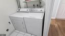 In unit, Washer and Dryer - 8634 MADERA CT, MANASSAS PARK