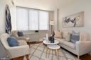 Entertain in your Living Room - 2939 VAN NESS ST NW #1129, WASHINGTON