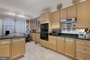 Kitchen - 19360 MAGNOLIA GROVE SQ #305, LEESBURG