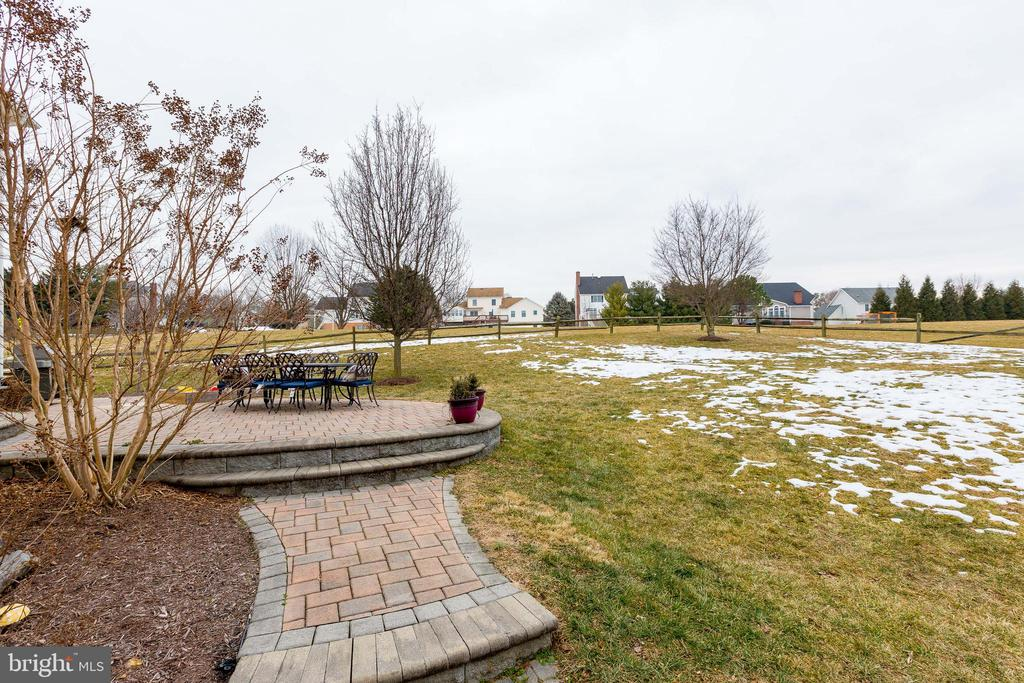 Gorgeous Back Yard Opening to soccer fields - 903 CRESTVIEW TER, WINCHESTER