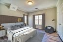 Virtually Staged Primary Bedroom - 1712 LAKE SHORE CREST DR #33, RESTON