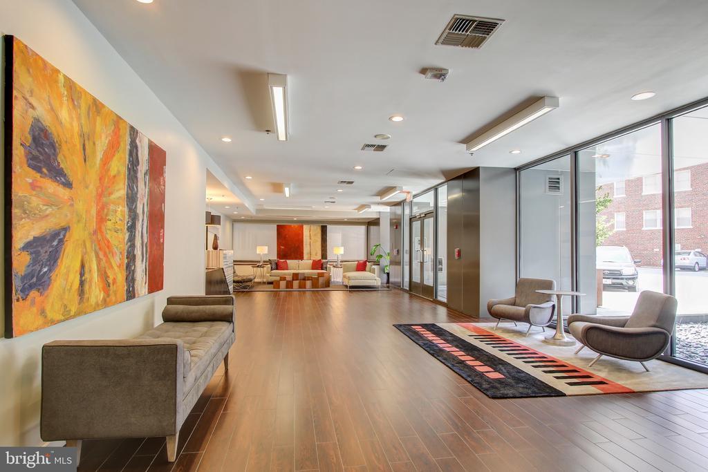 beautiful lobby - 3883 CONNECTICUT AVE NW #716, WASHINGTON