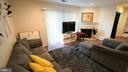 Warm up with the Gas Fireplace in Living Room - 20290 BEECHWOOD TER #100, ASHBURN