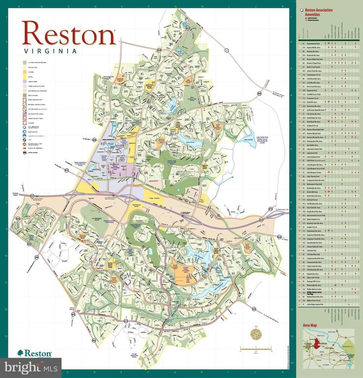 Reston offers amazing amenities! 55 miles of paths - 2071 WETHERSFIELD CT, RESTON