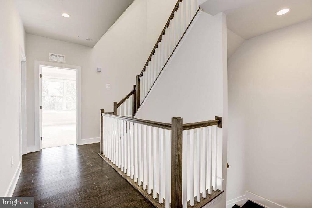 3rd Level Hallway w/Stairs Leading to 4th Floor - 42502 MILDRED LANDING SQ, ASHBURN