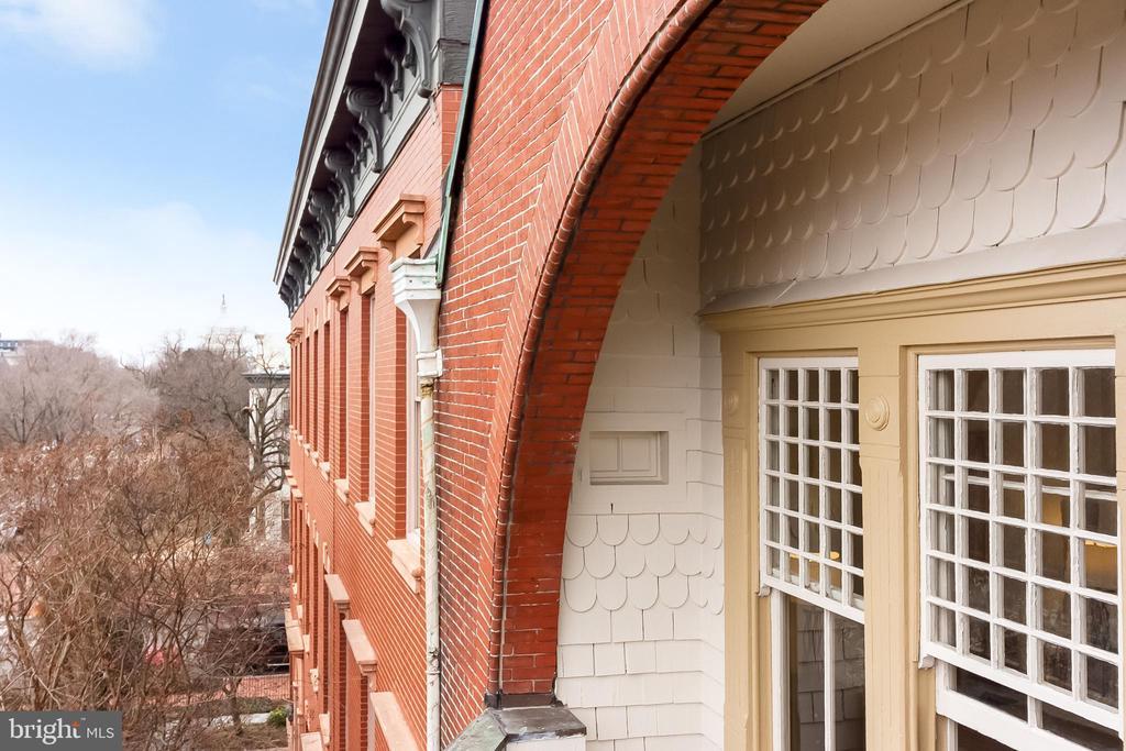 master balcony view of Capitol - 506 E CAPITOL ST NE, WASHINGTON