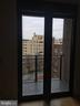 French doors open to balcony - 3883 CONNECTICUT AVE NW #716, WASHINGTON