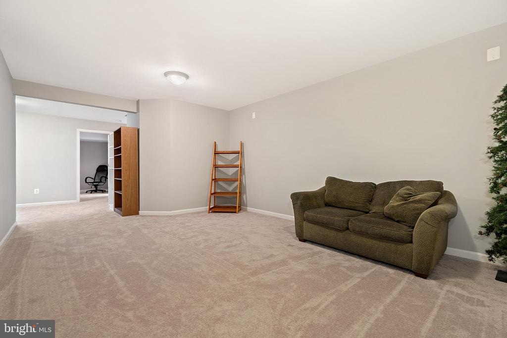 Large Lower Level Recreation Room - 18279 MAPLE SPRING CT, LEESBURG