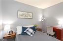 Spacious Bedroom #2 with brand new carpeting. - 2100 LEE HWY #G09, ARLINGTON