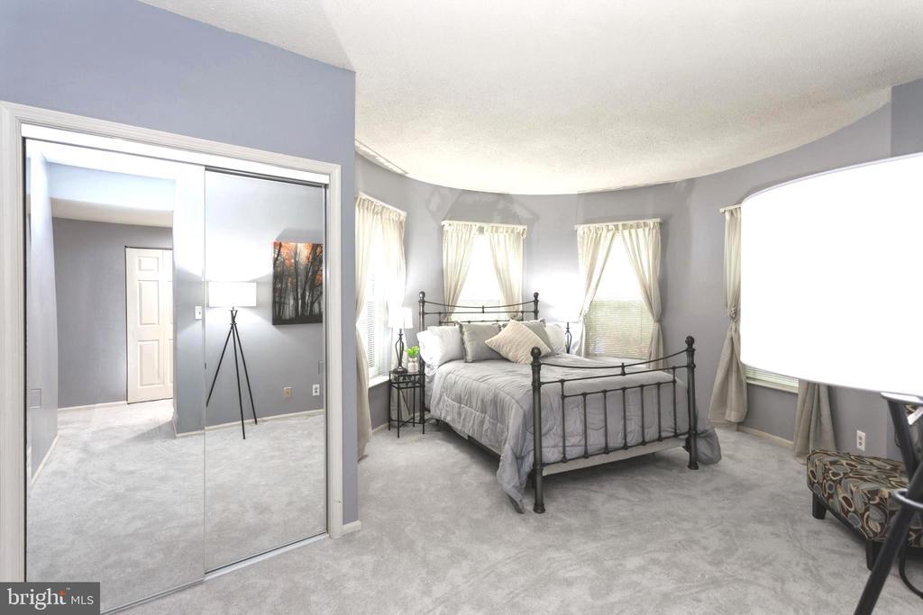 Spacious Master Suite has lots of closet space. - 2100 LEE HWY #G09, ARLINGTON