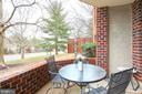Large open air patio perfect for drinks and bbq - 2100 LEE HWY #G09, ARLINGTON