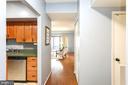 Welcome home!  View when opening your front  door. - 2100 LEE HWY #G09, ARLINGTON