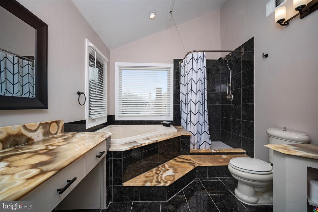 spacious master bath - 1069 NICKLAUS CT, HERNDON