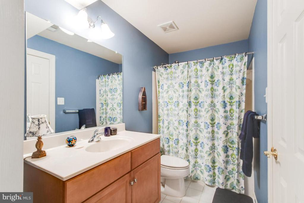 Lower level Full bathroom - 20277 DAWSON MILL PL, LEESBURG