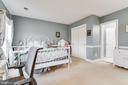 Spacious bedroom #3 - 20277 DAWSON MILL PL, LEESBURG