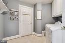 Main level laundry room - 20277 DAWSON MILL PL, LEESBURG