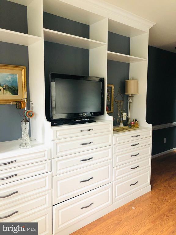 Custom Build-in cabinets in owner suite - 20757 PARKSIDE CIR, STERLING